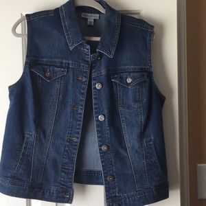 Jean Vest New without tag